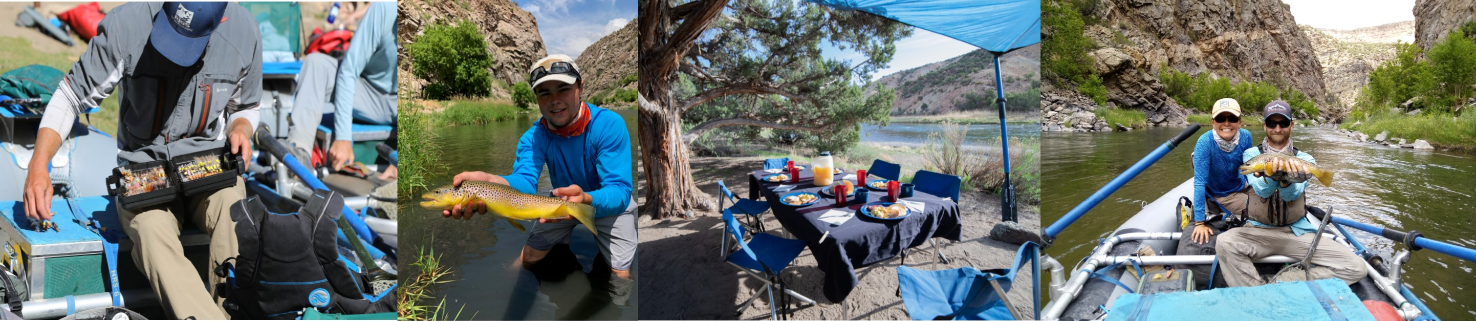 Deluxe Float Fishing Trip Down the Gunnison Gorge