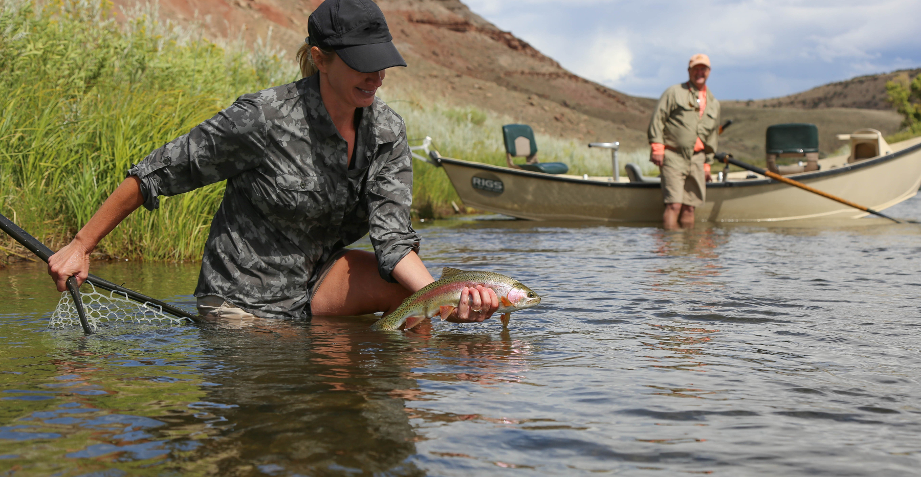Rigs adventure co fly shop fly fishing guide service and for Drift boat fishing