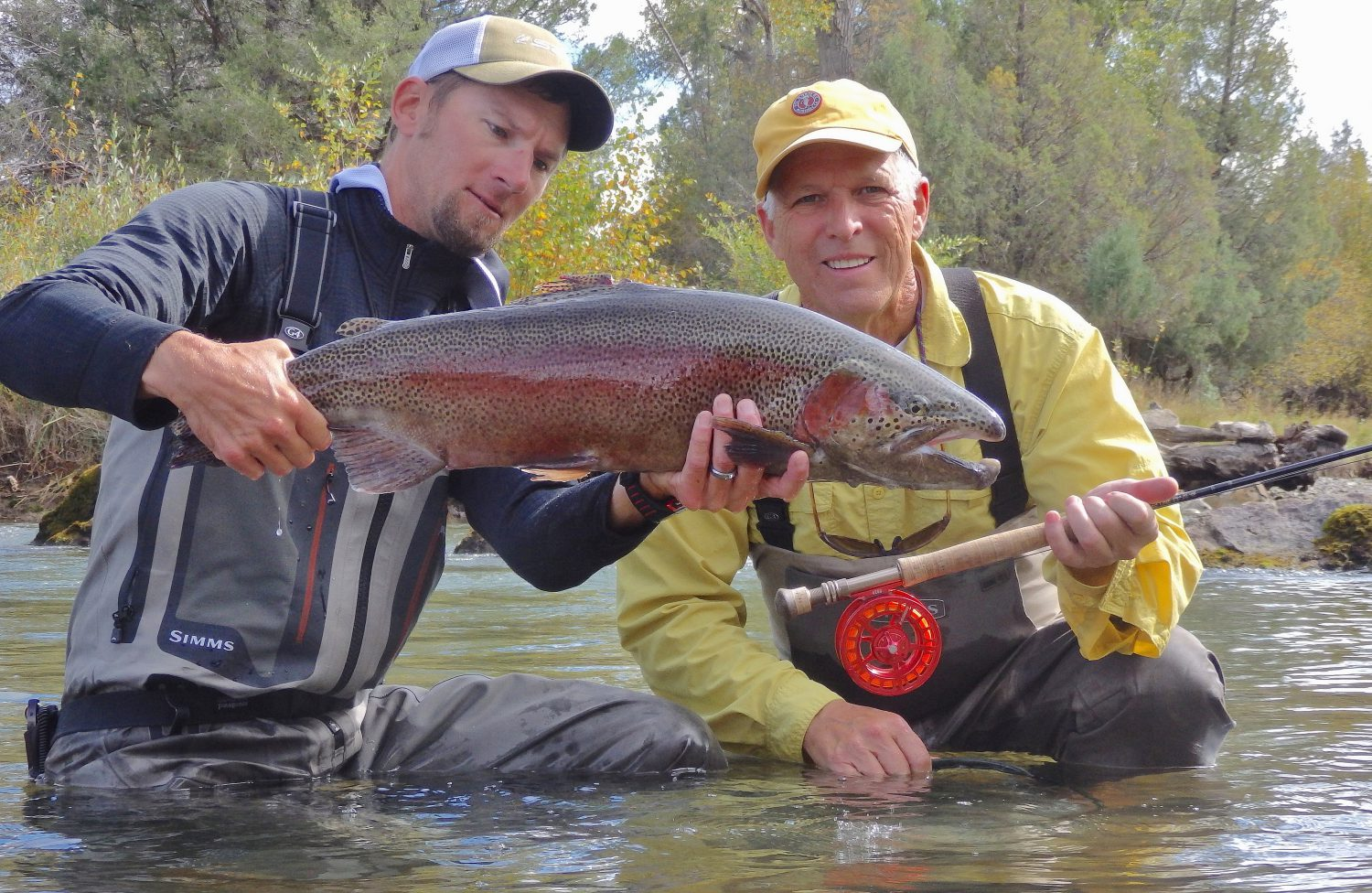 Sight fishing trophy trout rigs adventure co fly shop for Colorado fishing trips
